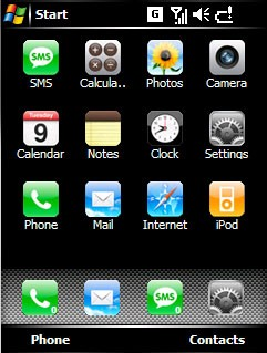 iPhone Windows Mobile
