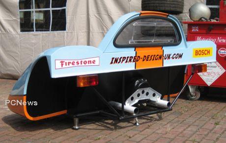 porsche 917 seat
