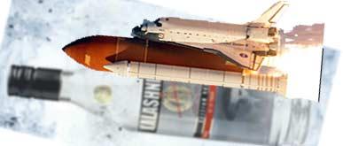 astronauti beti la bord