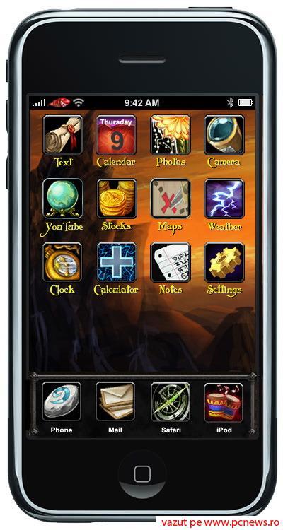 Tema de iPhone World of Warcraft