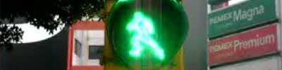 semafor animat