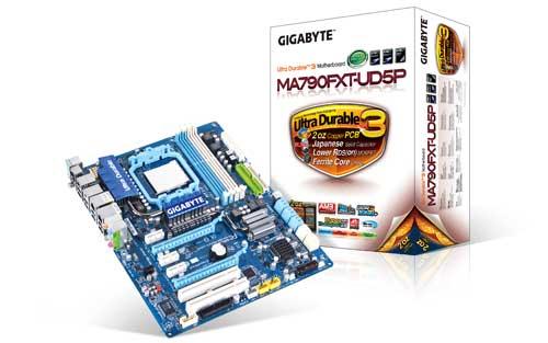 GIGABYTE GA-MA790FXT-UD5P AMD Dragon