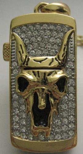 USB stick cu motive egiptene si cristale Swarovski