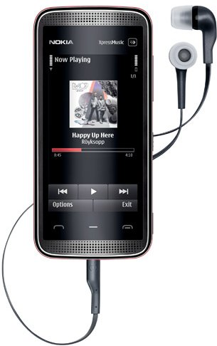 Nokia 5530 XpressMusic casti