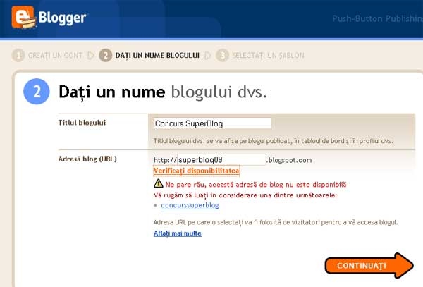blog gratuit pe blogspot