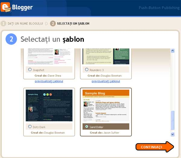template blogspot gratuit