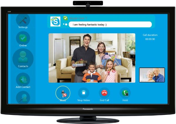 Panasonic VIERA Skype