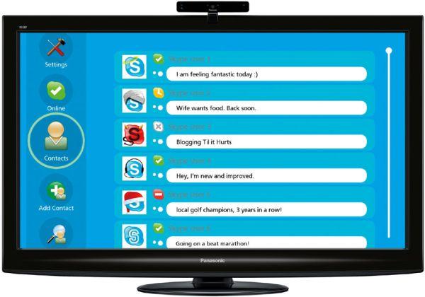 Panasonic VIERA Skype