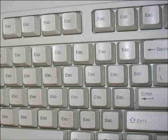 esc tastatura