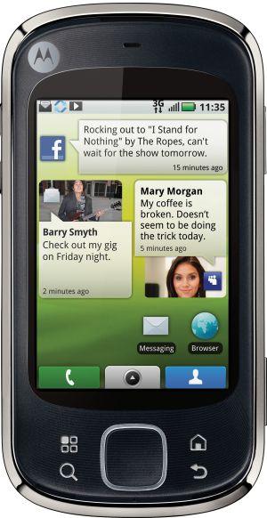 Motorola QUENCH MOTOBLUR