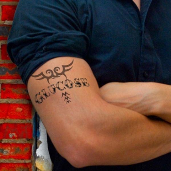 Tatuajul care indica glicemia