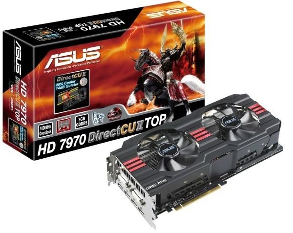 ASUS HD 7970 DirectCU II