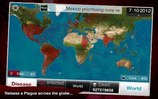 Plague Inc. se răspândește ca un virus