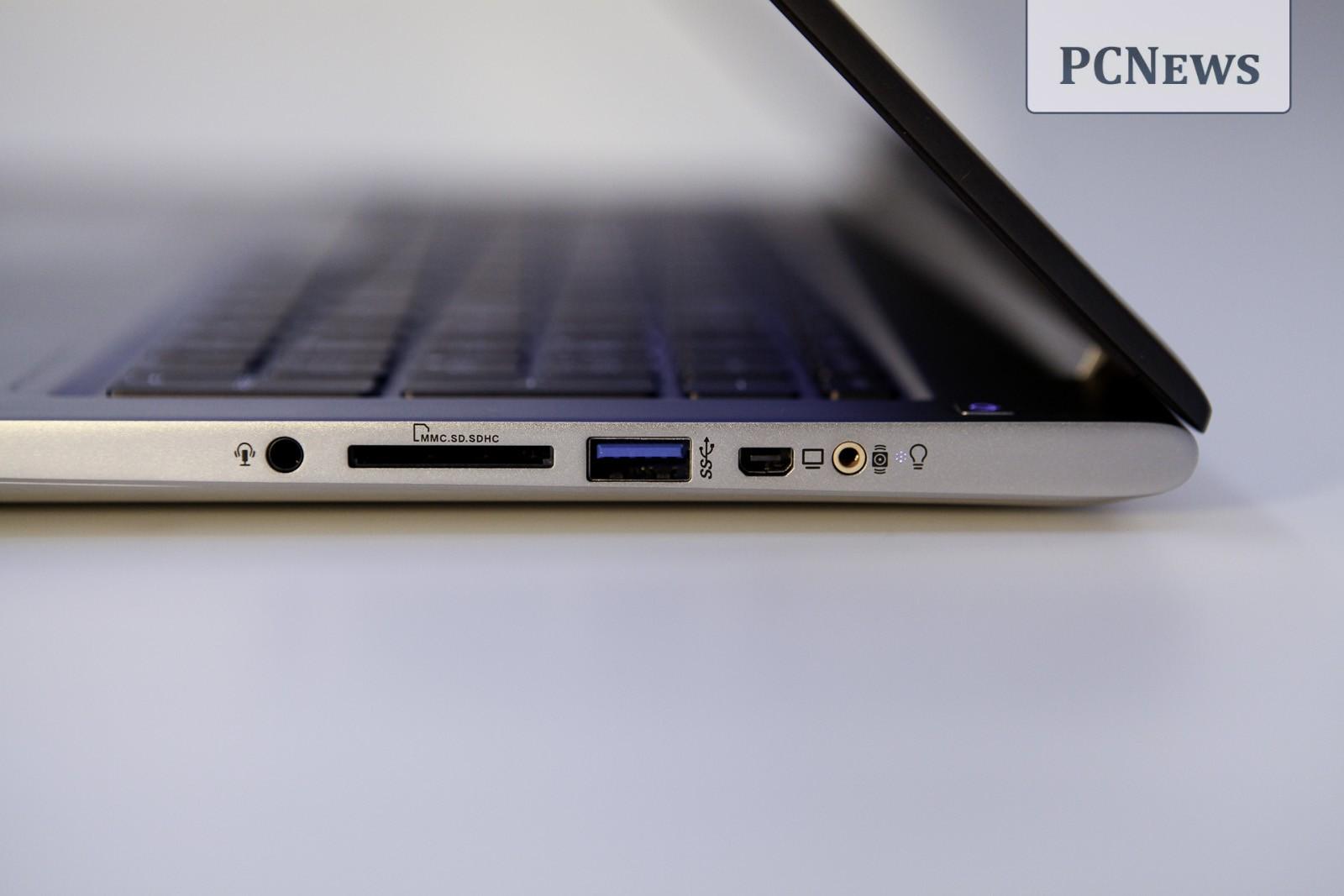 ASUS ZENBOOK UX51VZ porturi dreapta