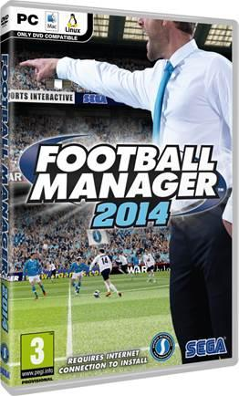 Football Manager 2014 fost expediat către magazine