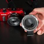 Adaptor EF-M - EF pentru Canon EOS M