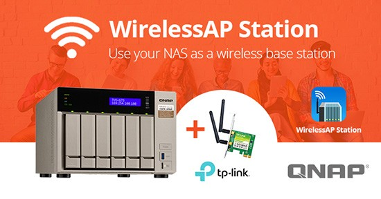 QNAP WirelessAP Station