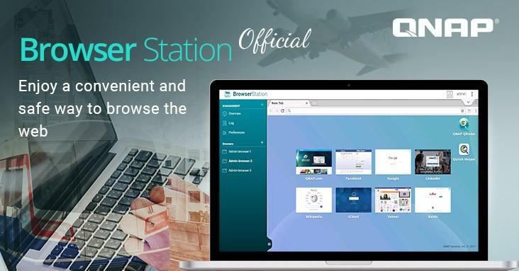 QNAP Browser Station