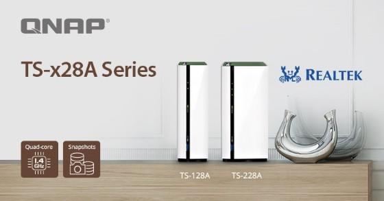 QNAP a lansat TS-x28A, servere NAS pentru acasă cu funcții multimedia și protecție prin snapshot-uri