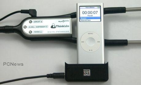 Stetoscop cu iPod