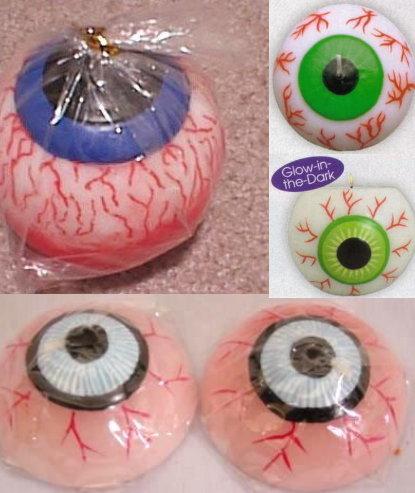 Lumanare in forma de glob ocular