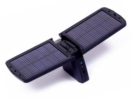 Incarcator solar pentru telefoanele mobile