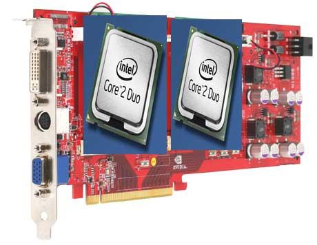 Intel si placile video