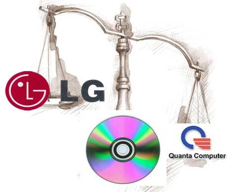 LG da in judecata Quanta Computer