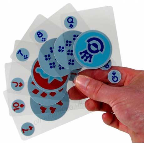 Carti de joc invizibile