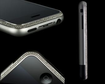 iPhone cu diamante