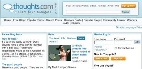 Un altfel de Blogging