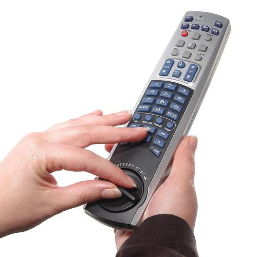 telecomanda cu manivela