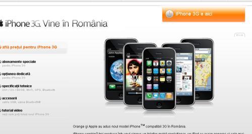 Lansare iPhone Orange