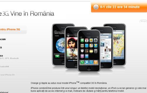 Lansare iPhone pe site-ul Orange a eşuat