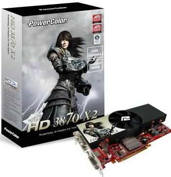 PowerColor ATI RADEON HD 3870 X2