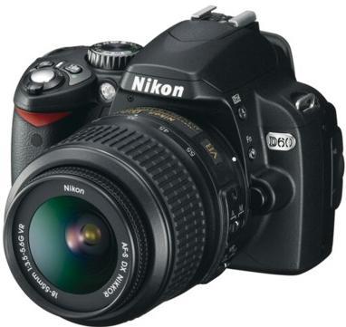 Nikon D60 KIT 18-55 AF-S ED II