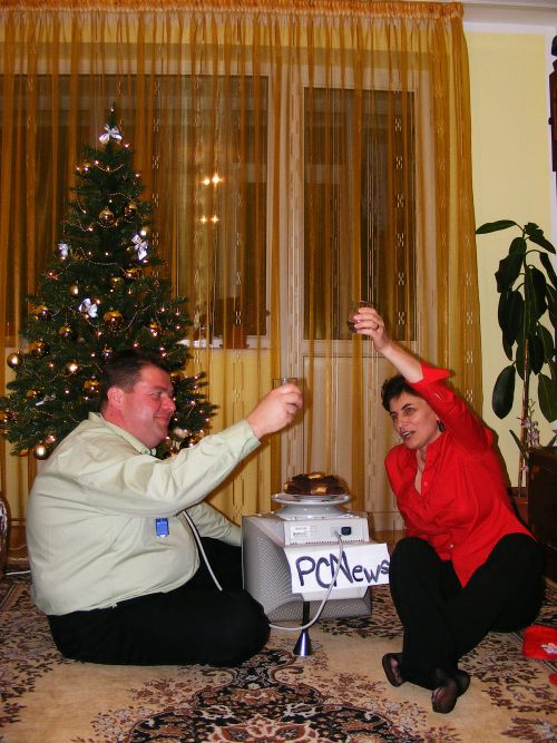 masa festiva de revelion cu CRT