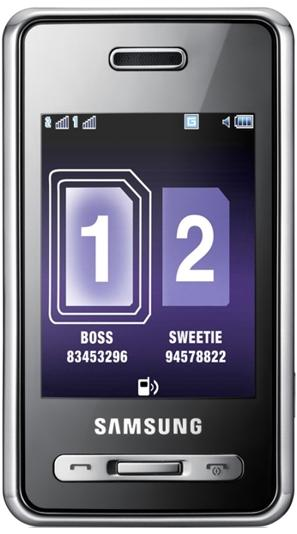 Samsung D980 Dual Sim