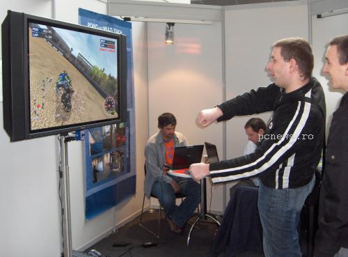 control prin gesturi cebit 2009