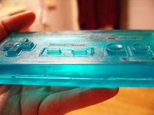 Nintendo controller de sapun