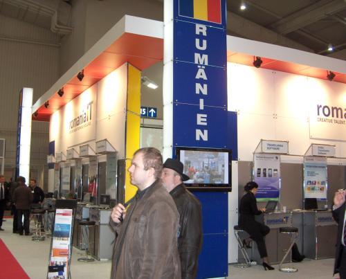 romania cebit 2009 stand