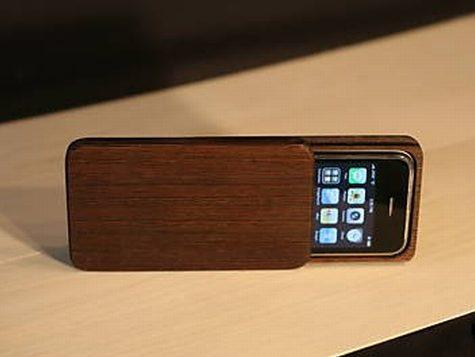 carcasa de lemn iphone