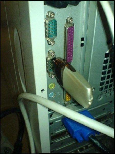 USB in serial