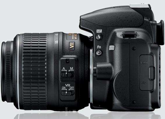 Nikon D3000 butoane