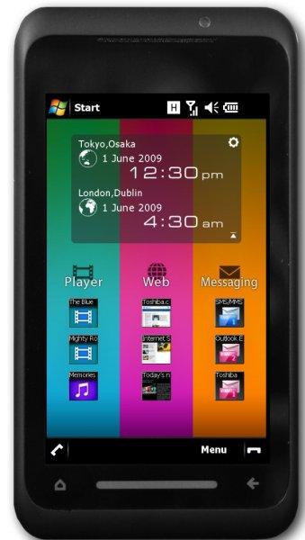 Toshiba TG01 fata