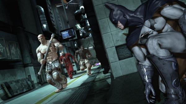 poza Batman Arkham Asylum