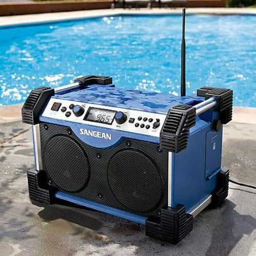 Industrial AM FM Radio iPod Player
