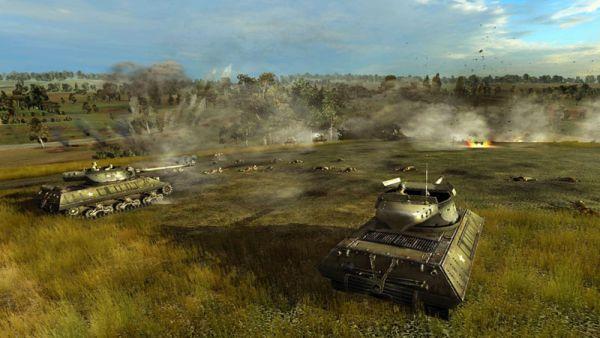 Order of War tanc in lupta