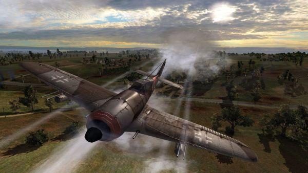 Order of War avion