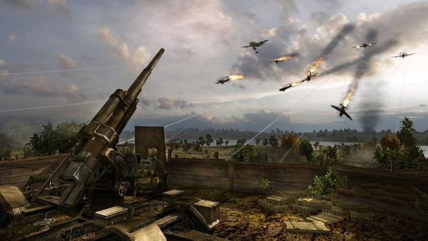 Order of War atac aerian